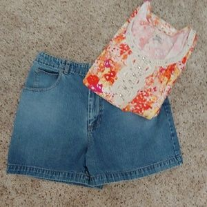 Banana Republic denim shorts SZ 14